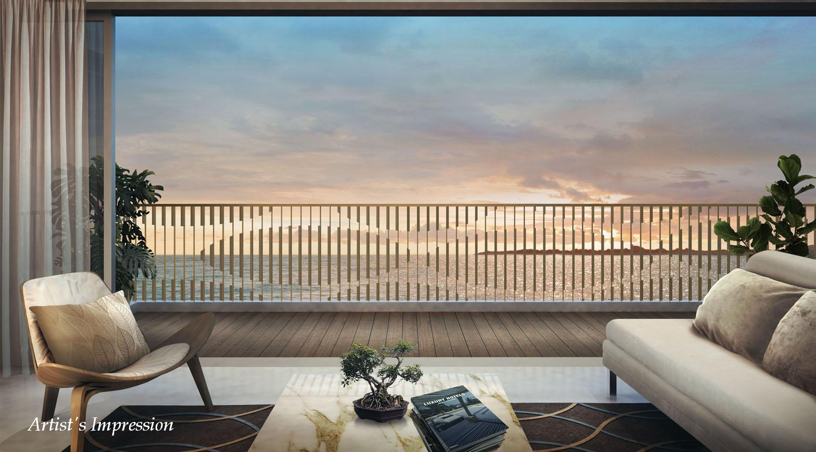 Ripple bay floor plans for Balcony with view