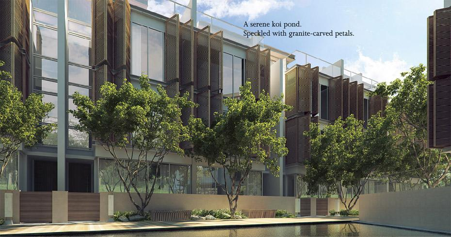 The Woods New Singapore Cluster Houses at Jurong