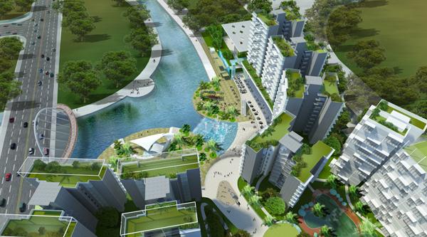Watertown Punggol :: The Waterway @ Punggol