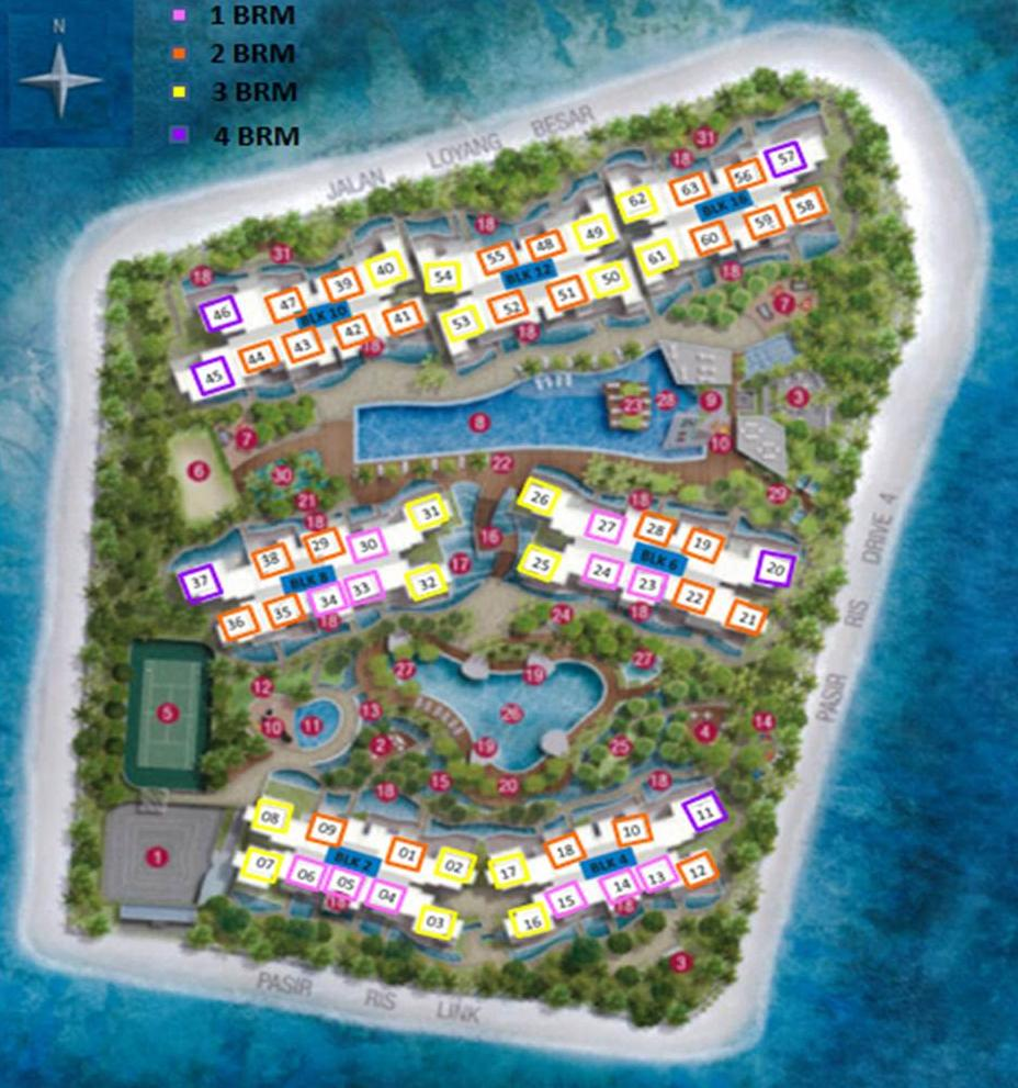 Ripple Bay Floor Plans