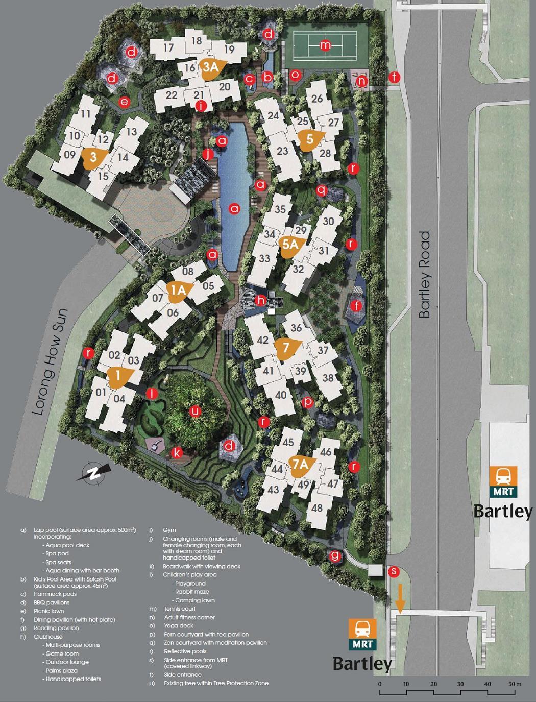 Bartley Residences Floor Plans