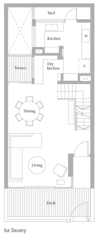Cluster House Floor Plan